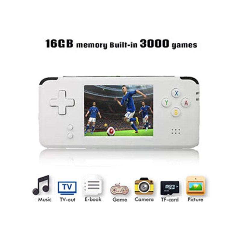AOSANG Portable Video Handheld Game Console Retro 64 Bit 3 Inch 3000 Video Game Retro Handheld Console to TV RS-97 RETRO-GANE 07