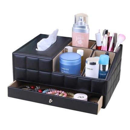 Acheter Style européen boîte de tissu créatif de bureau télécommande cosmétiques induction déesse commode de la chambre make up boîte de rangement de storage box fiable fournisseurs