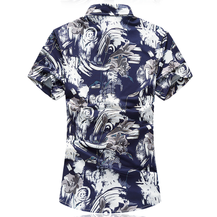 LONMMY PLUS SIZE 7XL Këmisha me fustane për burra Merkerizuara - Veshje për meshkuj - Foto 2