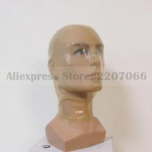 Прозрачные латексные резиновые колпаки унисекс, маска с ноздрями, открытая задняя молния ручной работы RLM074