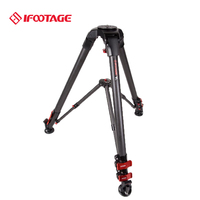 IFootage T3 углеродное волокно dslr камеры видео штатив фото видеокамеры стенд профессиональный портативный путешествия Фотостудия