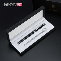 AIHAO 1 Pc Metallic Signature Pen Business Pens Gel Pen 0 5mm Gift Boxed Stationary School