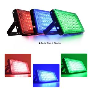 Image 4 - Floodlight 10W 50W LED Flood Light Lighting Outdoor Street Lamp Wall Reflector Waterproof IP65 Spotlight AC 220V 240V