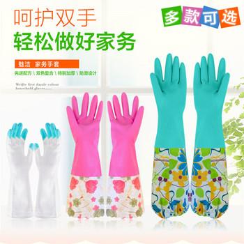 Rękawice do czyszczenia gospodarstwa domowego rękawice kuchenne rękawice gumowe rękawice lateksowe rękawice do mycia naczyń rękawice do kąpieli dla kota anti-bite tanie i dobre opinie 70-100g Grube Czyszczenie