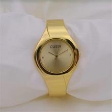 CUSSI Golden Womens Bracelet Watches TOP