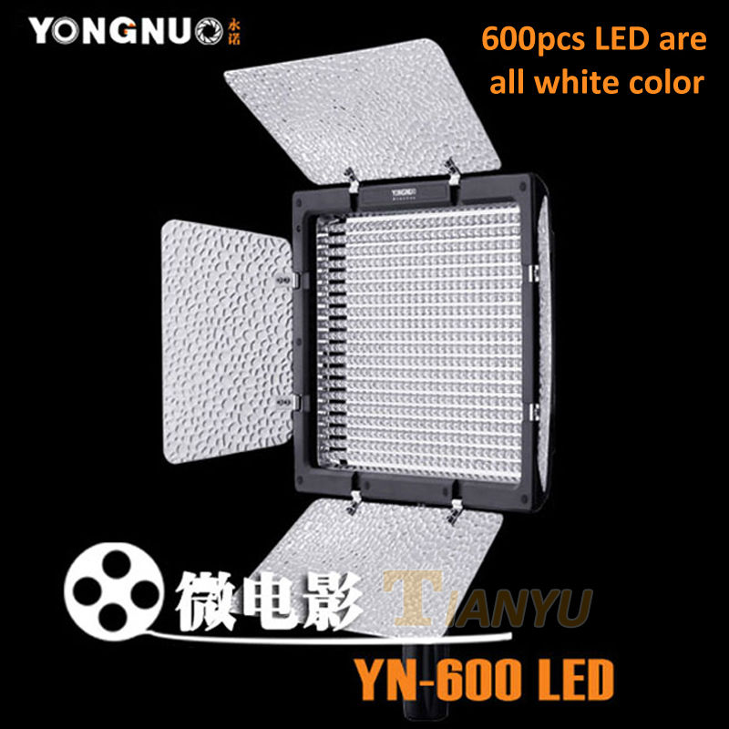 YONGNUO YN600 YN-600 LED light 5500K Color Temperature Adjustable 600 LEDs Video Light YN-600 ,YN 600 LED bt137 600