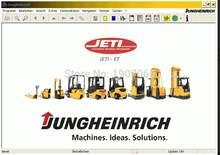 Jungheinrich – informations sur la réparation du chariot élévateur, Jeti SH 2018 +, catalogue de pièces + patch expiré, 4.34