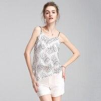 2017 Lace Women S Shirt Elegant Crop Top Sexy V Neck Blouse Camis Women Short Sleepwear