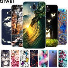 For Huawei Y5 2017 Case 5.0'' Mya-l22 Mya-u29 Silicone Soft TPU Cute Back Cover Coque For Huawei Y 5 Y5 2017 Phone Cases Fundas(China)