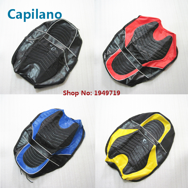 motorcycle good quality water proof YBR125 seat cover for Yamaha 125cc YBR 125 seat spare parts кофры komine