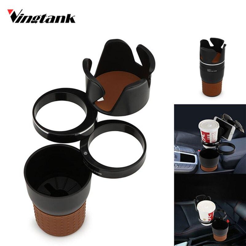 vingtank multifunction car cup holder storage box drink. Black Bedroom Furniture Sets. Home Design Ideas