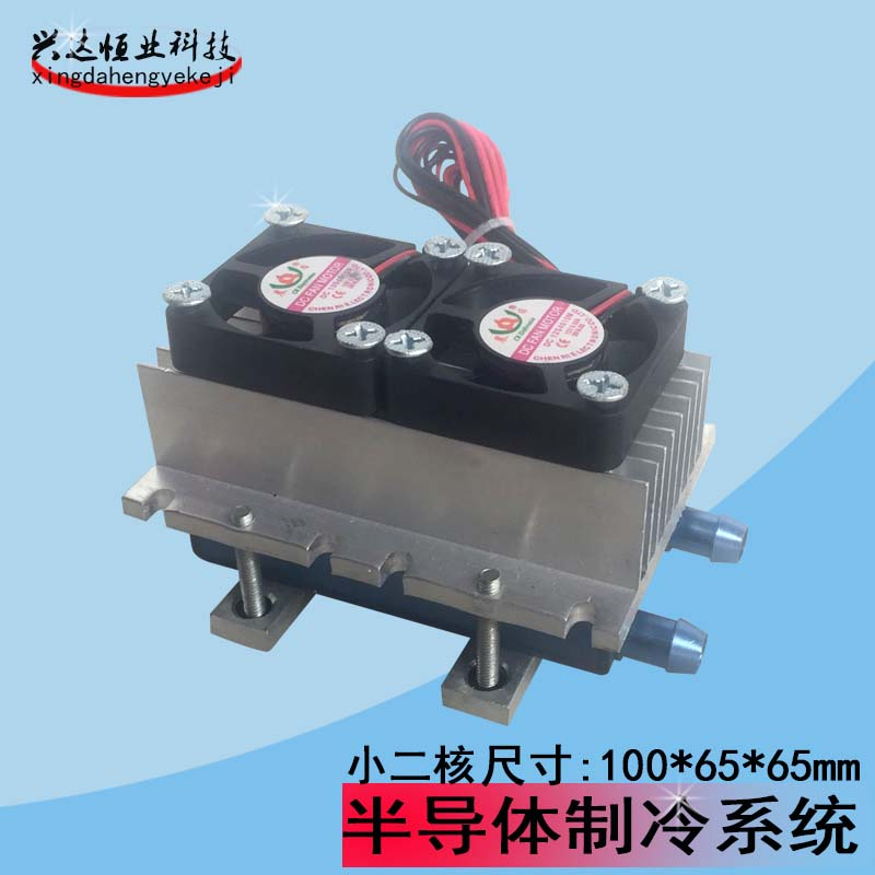 Semiconductor refrigeration Mini DIY semiconductor refrigeration refrigeration radiator water-cooling Double Suite special offer xd 2030 refrigeration unit module semiconductor cooling chiller refrigeration unit 240w