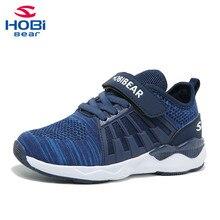 أحذية أطفال للبنات بنين حذاء تنس أبيض تنفس الجري الرياضية الأحذية التدريب للأطفال الفرقة Hobibear H7617