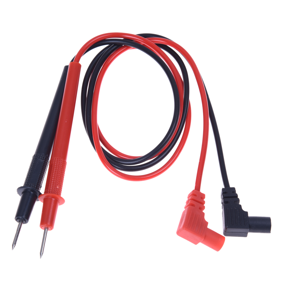 1 Pair 28 anti-slip grip Multimeter Test Leads Black and Red wires probes digital multimeter feelers for multimeter wire tips tungfull multimetros multimeter test leads probes cooper wires test lead wire probe cable for ac dc lcd digital multimeters
