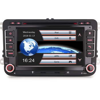 8 Core Autoradio GPS DAB+ Navi iPhone7/8 DVD OBD OPS DTV-IN Bluetooth 3G CD For VW Golf Passat Touran Sharan EOS Jetta Polo Seat image
