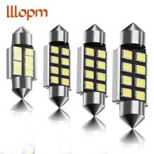 1pcs Car Light 31mm 36mm 39mm 41mm CANbus C5W Led Light Bulb 2835 SMD For Audi Volkswagen Mercedes-Benz BMW E36 E46 E90 E60 dali zensor 7 light walnut