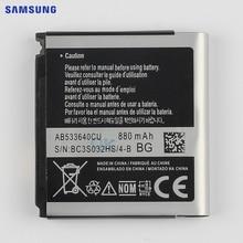 цена на SAMSUNG Original Replacement Battery AB533640CC For Samsung C3110 S3710 G400 G500 F469 F268 G600 3600C AB533640CU 880mAh