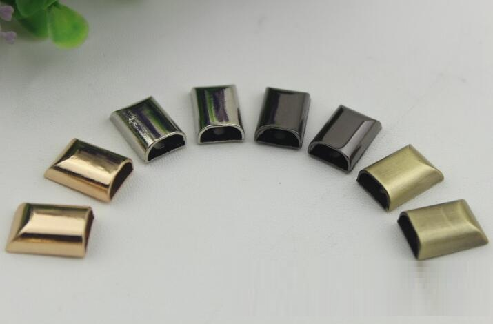 Gold Silber Schwarz Bronze Metall Legierung Reißverschluss Unten Stopper Reißverschlüsse Geschlossen Endanschlag Handtasche Schultertasche Zubehör 100 Teile/los äSthetisches Aussehen Pullover