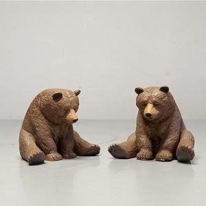 1 шт. магнит на холодильник медведь, еж для домашнего декора сидя сонные Животные Смола ZAKKA подарок ремесло зоопарк кухня YWLZ03