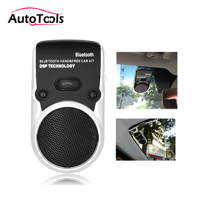 Wireless Bluetooth  Car Kit Hands Free Speakerphone Solar Powered Speaker Phone Handsfree Car Charger tech 2 scanner for sale