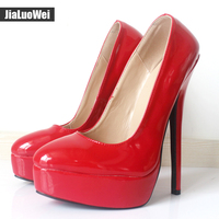 Women Pumps Sexy High Heel Boot Pointed Toe Platform Lady Thin Heels Shoes Woman New Design