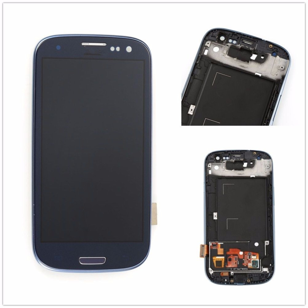 ФОТО Lcd Display For Samsung S3 I747 lcd Digitizer With Frame Screen For Samsung Galaxy S3 T999 Lcd Screen Assembly Display Tools