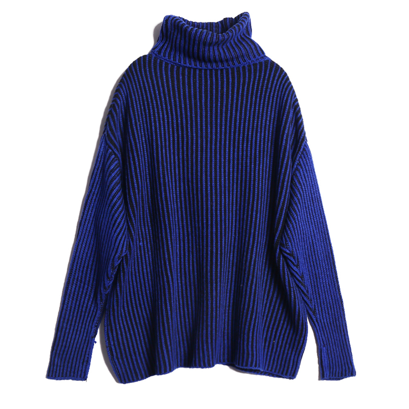 AOEMQ Winter Hot Sell Sweater Keep Warm Use High Turtleneck Protect Neck Winter Warm Sweater Cotton Soft Sweater for Women 6