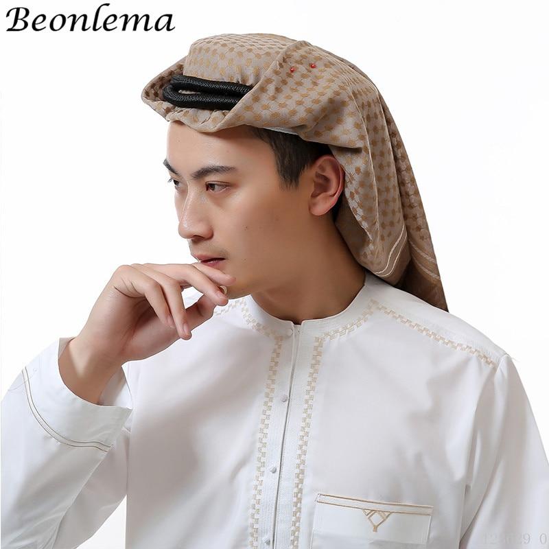Novelty & Special Use Islamic Clothing Beonlema Muslim Men Cap White Mesh Musulman Paryer Hat Arab Turban Caps Homme Islamic Clothing Indian Hat Male Bonnet