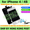 Black or White New Original LCD Touch Screen digitador para o iPhone 4 4 G 4S substituição PIXEL NO morto + Kit Repair Tool