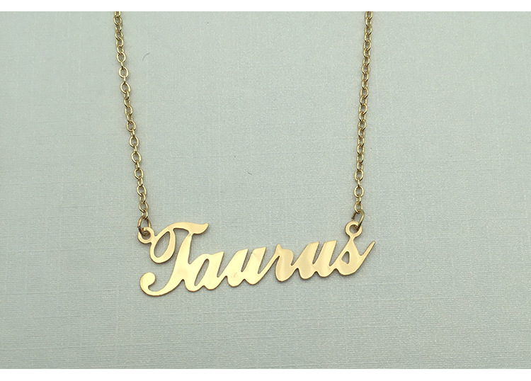 Custom necklace Custom necklace of any name, alloy necklace, Custom necklace,