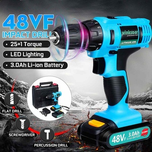 48VF 21V Electric Drill Househ