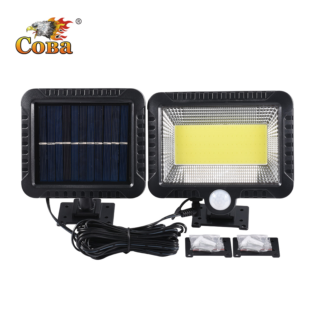 Coba Led Outdoor Solar Light For Garden Decoration Waterproof Separate Solar Lamp Sunshine Light 5 Meters Line Christmas Lights