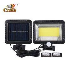 مصباح Coba led خارجي يعمل بالطاقة الشمسية لتزيين الحدائق مصباح شمسي منفصل مضاد للماء مصباح أشعة الشمس خط 5 متر أضواء الكريسماس