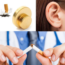 Магнит для ухода за здоровьем, пластырь для акупрессуры, без сигарет, терапия для здоровья, для остановки курения, против дыма, пластырь для бездымного курения