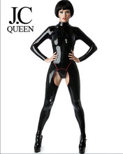 c29cee14fa J.C Queen-Latex rubber catsuit women s body suit sexy handmade pure natural  latex