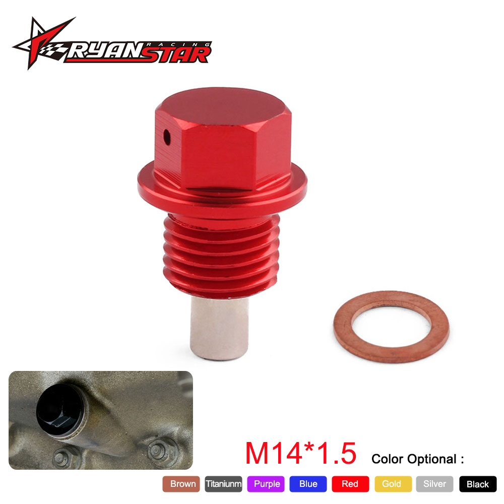 Espeeder M12*1.25 Magnetic Oil Drain Plug Magnetic Oil Sump Nut Sump Screw Drain Magnetic Oil Plug Nut Jdm 2019 Latest Style Online Sale 50% Auto Replacement Parts