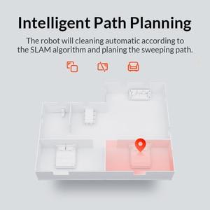 Image 3 - Xiaomi مي روبوت مكنسة كهربائية 2 الصلب الأرضيات السجاد التلقائي كنس الذكية المخطط WIFI Mijia APP التحكم عن بعد الغبار نظافة