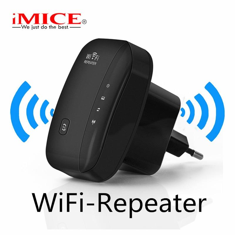 IMice repetidor extensor WiFi Wi-Fi amplificador inalámbrico 300 m 802.11n g b rango de señal de Reapeter Wi-Fi Punto de Acceso SOHO