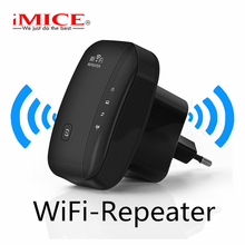 IMice 리피터 WiFi Extender Wi Fi 증폭기 무선 300 메터 802.11n g b Signal Range Booster Reapeter wi-Access Point 대 한 SOHO(China)