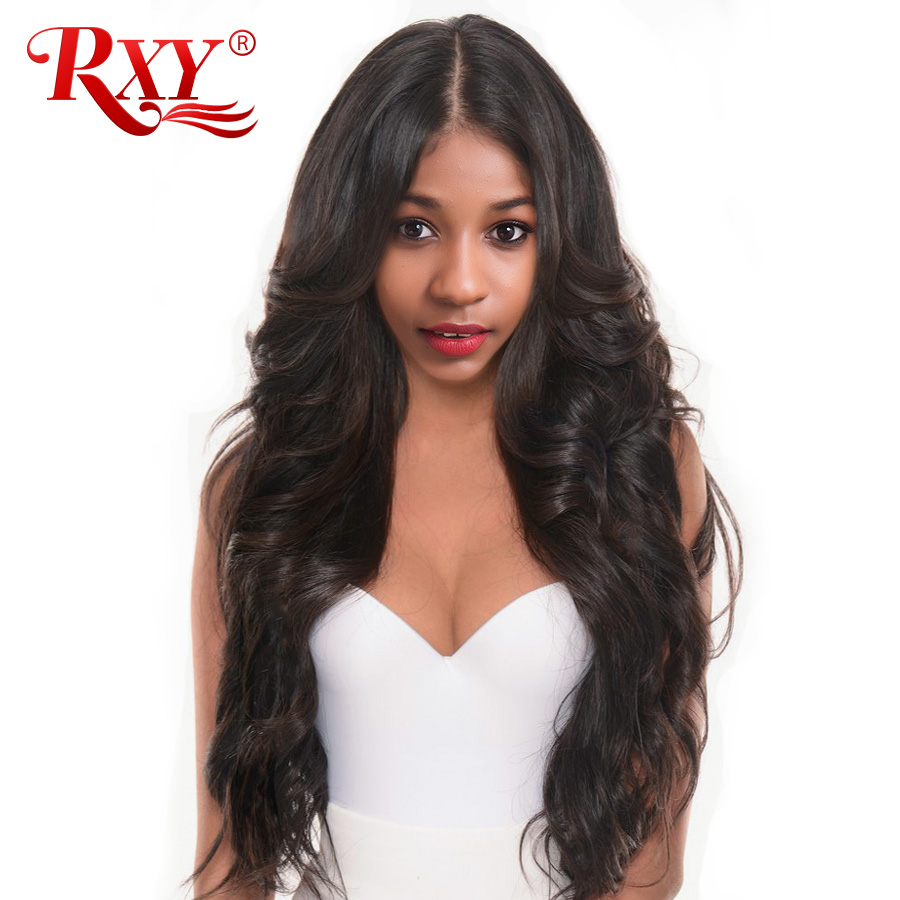 RXY Body Wave 13x6 Lace Front Wig Glueless Lace Front Human Hair Wigs For Black Women