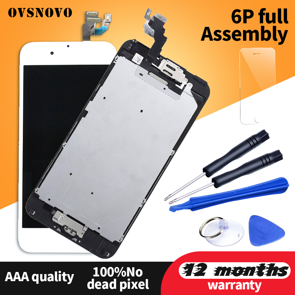 Full set pantalla For iPhone 6 plus LCD Touch Screen Display Assembly Replacement For iPhone 6 plus LCD+Home button&Front CameraFull set pantalla For iPhone 6 plus LCD Touch Screen Display Assembly Replacement For iPhone 6 plus LCD+Home button&Front Camera