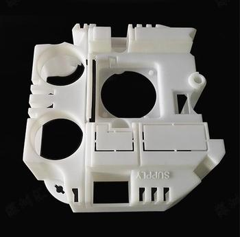 3D printing service for white color photosensitive resin by SLA technology additive manufacturing, Item No. ST021