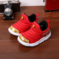 Children Shoes 2017 Spring Autumn Breathable Spell Color Mesh Sport Shoes Fashion Casual Kids Shoes For