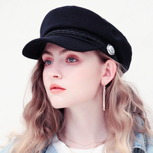 Women Baseball Cap Hats For Women Winter Octagonal Fashion F