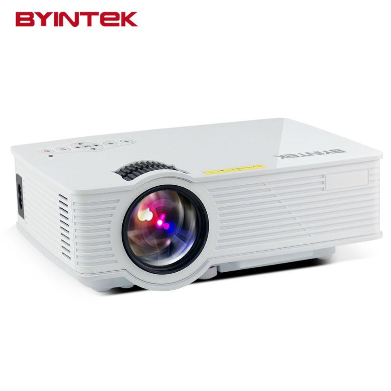 Prix pour BYINTEK BT140 Home Cinéma Cinéma 1080 P HD HDMI USB Vidéo Numérique Portable WIFI Smart Android Airplay LCD LED Mini projecteur