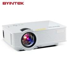 Byintek BT140 Smart Android дома Театр 1080 P HD USB HDMI видео X7 Портативный WI-FI AM01S ЖК-дисплей светодиодный мини-проектор proyector