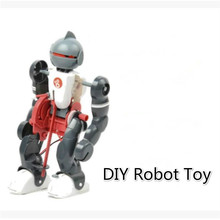 DIY Electric Tumbling Robot Mode Assembly Robot Toy for Children Educational Toys for Children Kids Gift new electric robot spider model toy diy educational 3d toys assembles toys kits for kids christmas birthday gifts