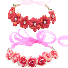 2019 New Arrivals Flower Headbands For Girls Kids Headband Baby Hair Bands Mommy & Accessories Floral Wreath