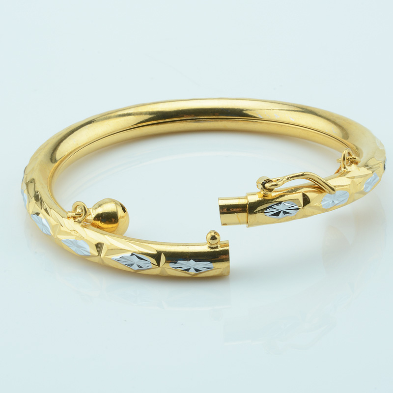 elegant cuff nazariya kid bangle products solid onyx baby gold cuf bracelet dubai royal