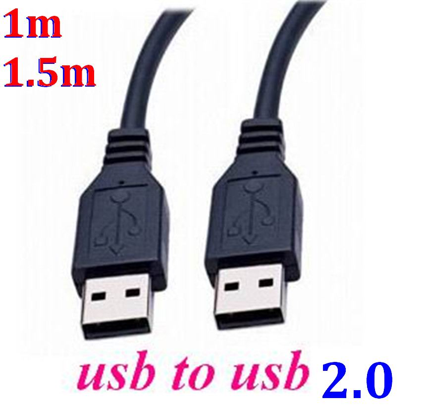 200pcs lot Newest 1m 1 5m USB 2 0 A Male Plug to USB A Male